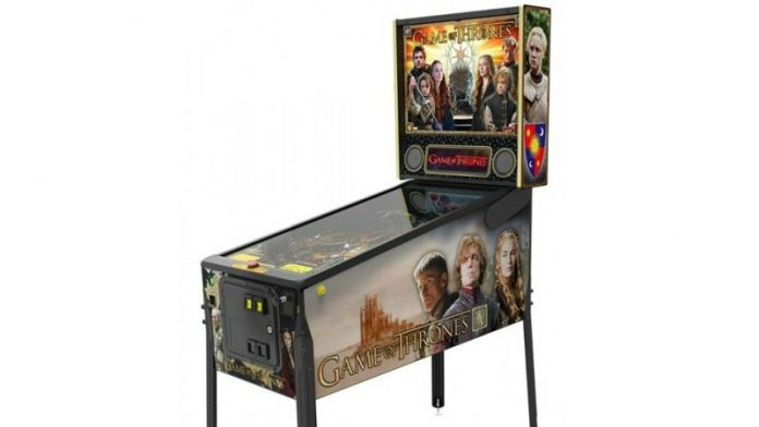 Coinslot Pinball Heaven Game of Thrones