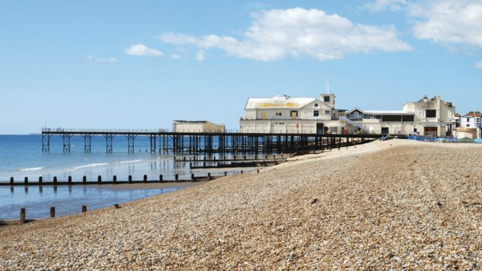 Coinslot Bognor Pier Heritage Lottery Fund