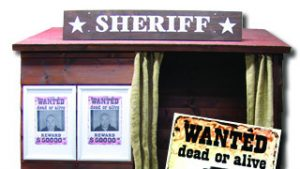Coinslot, sheriff wanted