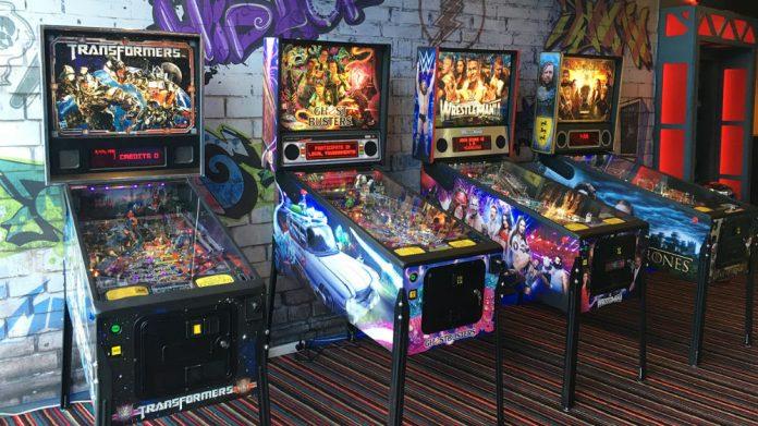 Coinslot Gamestec Pinball