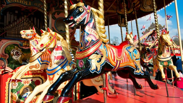 Coinslot Media Watch Carousel Horses