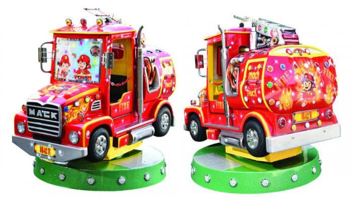 Coinslot SB Machines Firetruck