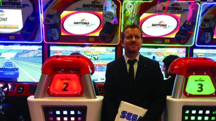 Coinslot Sega Justin Burke Daytona