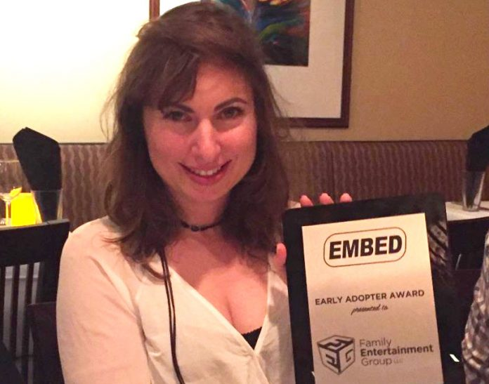 Coinslot FEG Embed Early Adopter Award