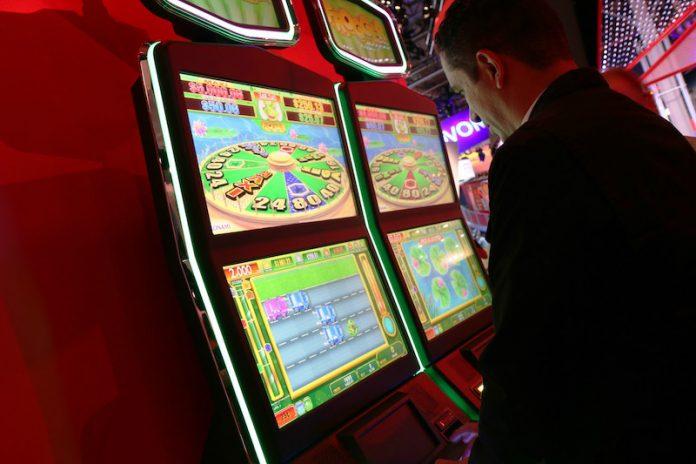 Coinslot Frogger Get Hoppin' Skill-based Game