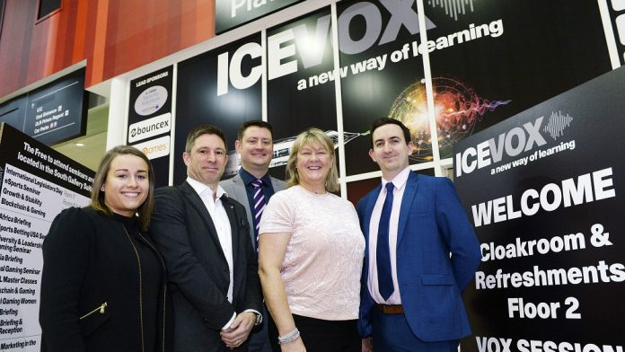 Coinslot ICE VOX, gaming's newest learning brand