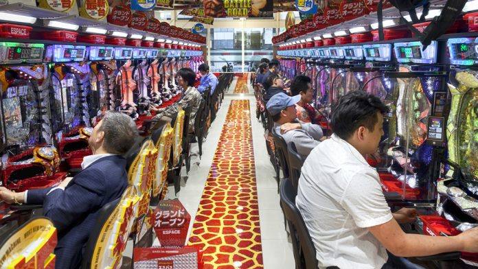 Coinslot Japan Arcades still rising in the east