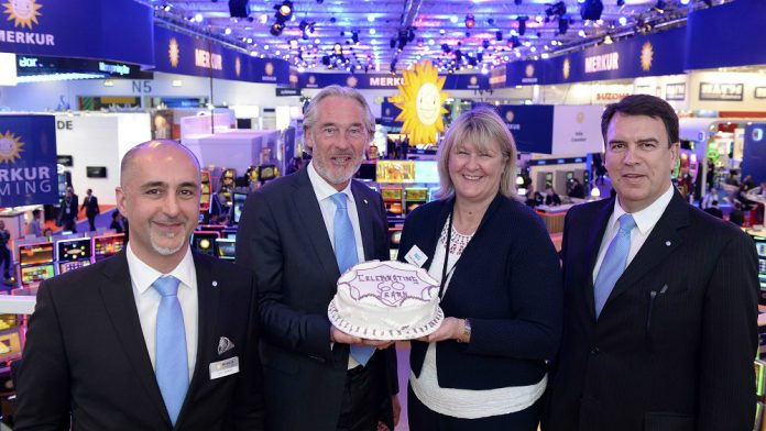 Coinslot - ICE-ing on the cake for show's long-term exhibitors - Merkur