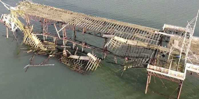 Coinslot - Beginning Colwyn Bay Pier Victoria Pier Trust