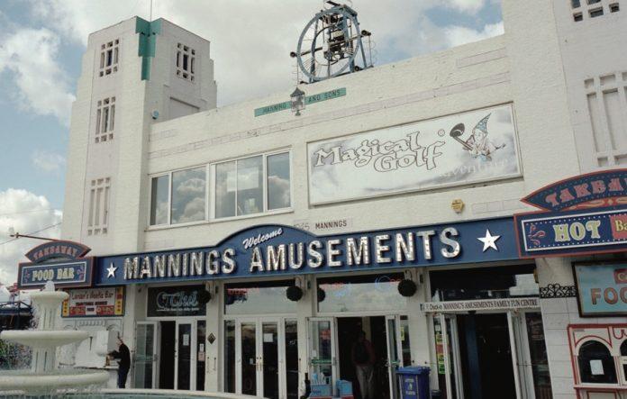 Coinslot - Charles Manning Amusement Park Felixstowe music