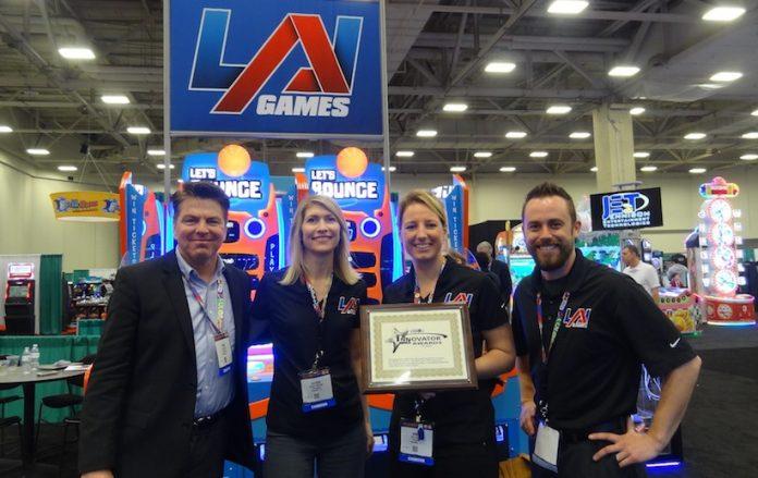 Coinslot - LAI Games Dallas Amusement Awards