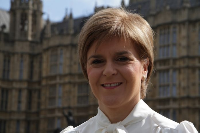 Coinslot - Nicola Sturgeon Scottish Independence