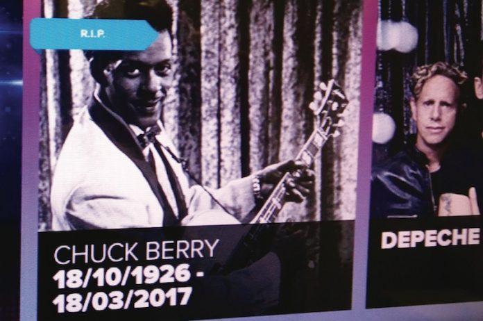 Coinslot - Playdium Chuck Berry
