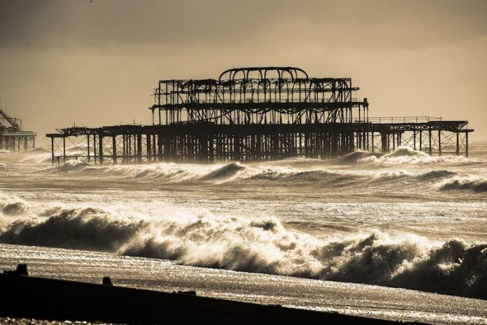 Coinslot - Pressure storm Doris UK pier