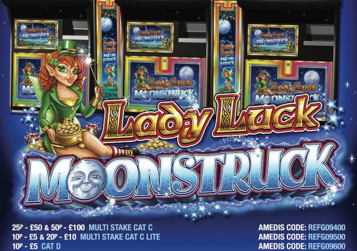 Coinslot - Reflex Gaming Lady Luck Moonstruck