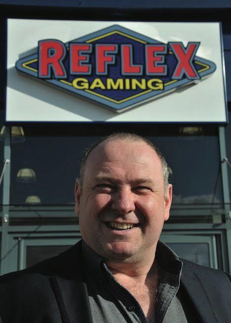 Coinslot - Steve Clarke Reflex Gaming