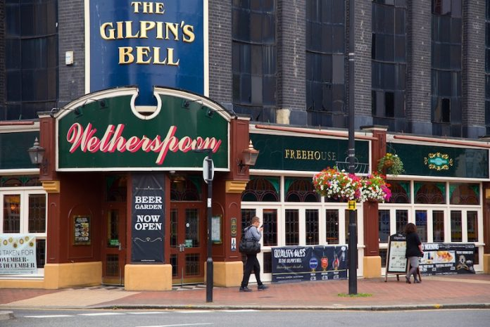 Coinslot - Wetherspoon Tim Martin Revenue report