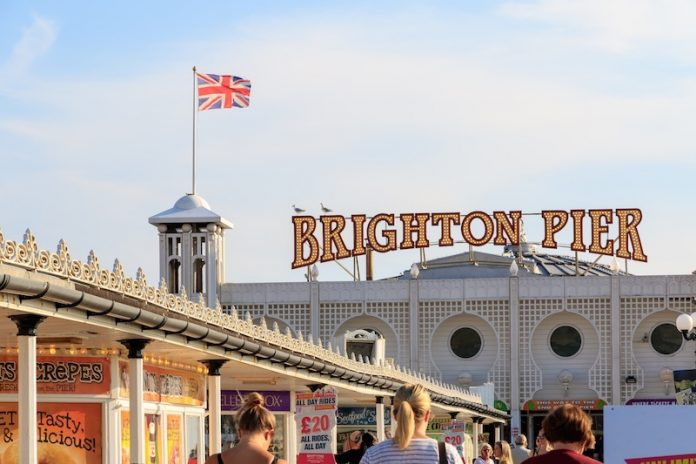 Coinslot - science Brighton pier marathon