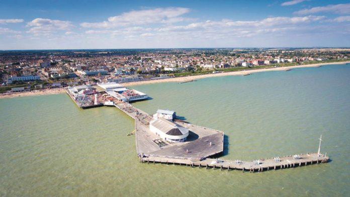Coinslot - Clacton pier armed services