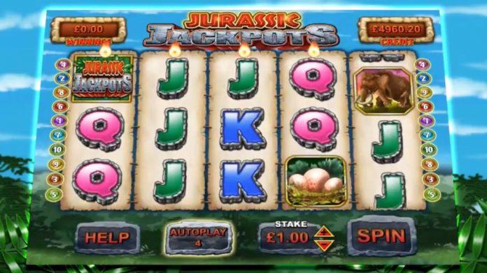 Coinslot - Reflex Jurassic Jackpots digital