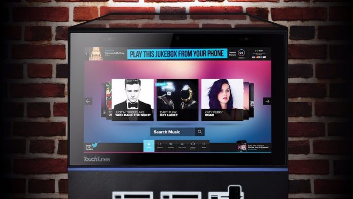 The TouchTunes Playdium Jukebox