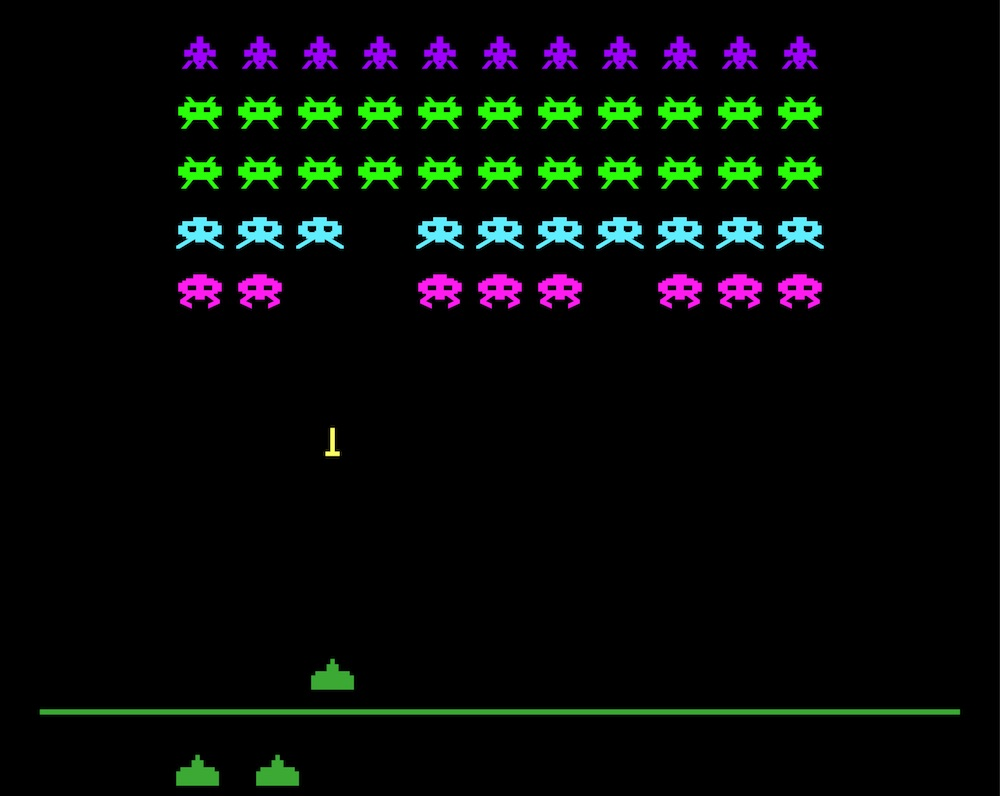 Coinslot news and featured contents coinslot international for Space invaders