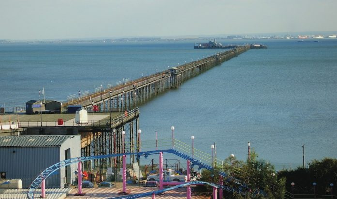 Coinslot - wifi Southend Pier £6.3m pavillion