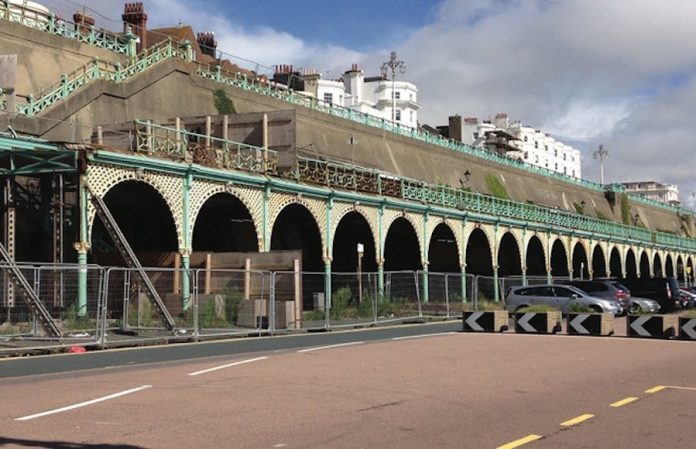 Coinslot - Brighton crowdfunding seafront