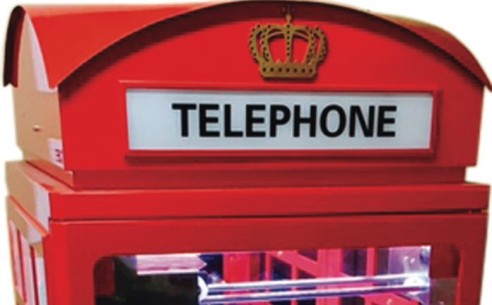 Coinslot - JNC Sales Family Telephone Box