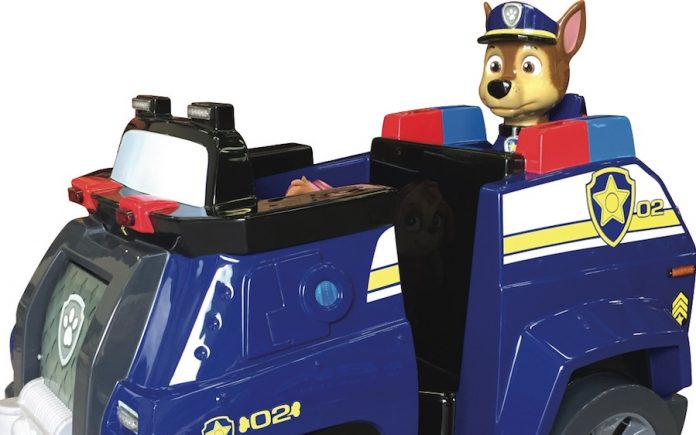 Coinslot - Kiddy Rides PawPatrol