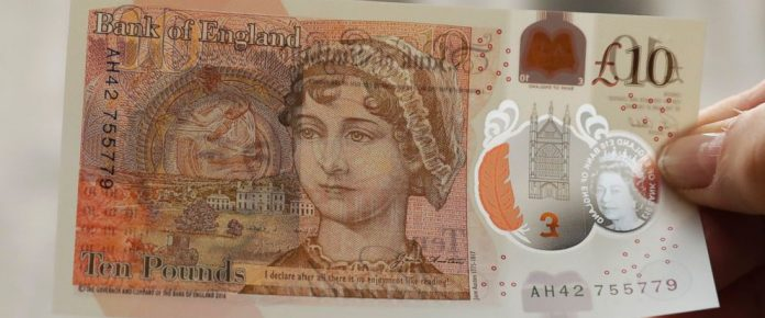 10 pound note polymer