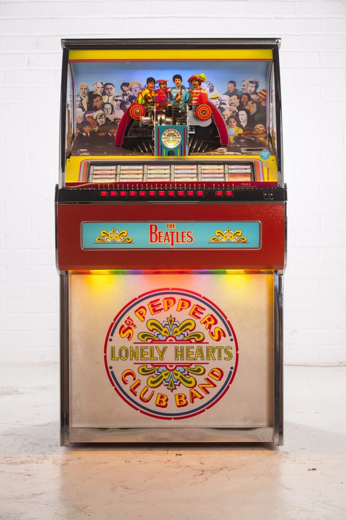 beatles jukebox pepper