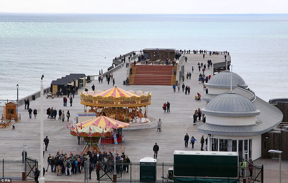 Hastings Pier In Turbulent Waters After Disappointing Season