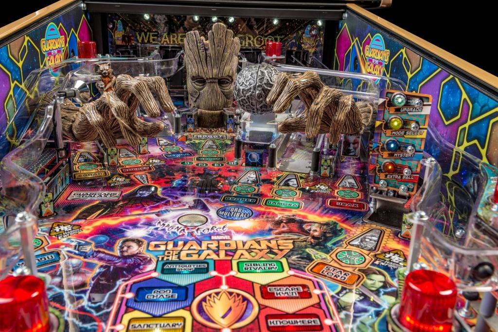 Stern Launches Guardians Of The Galaxy Pinball Coinslot