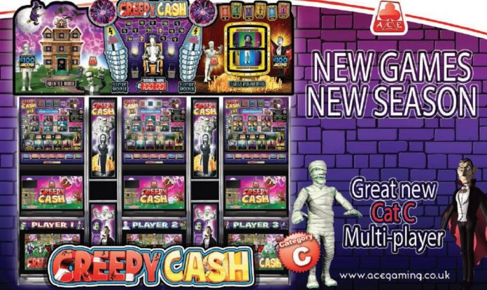 Coinslot Ace Gaming Cat C Creepy Cash