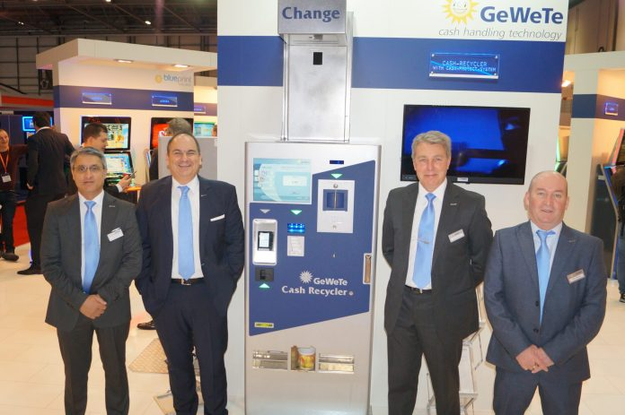 The GeWeTe team at the EAG in London