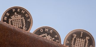 1p penny pennies