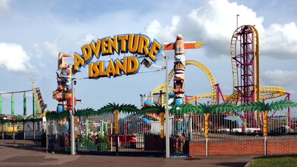 Adventure Island Pictures From Tampa Fl