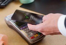 Cashless payment phone