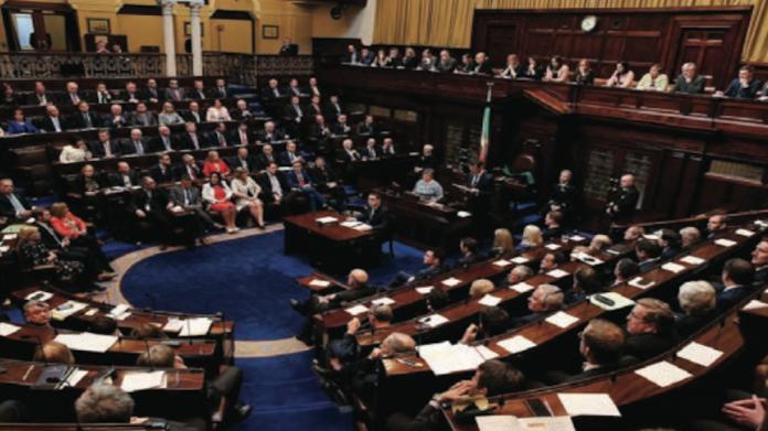 Ireland Dail debate