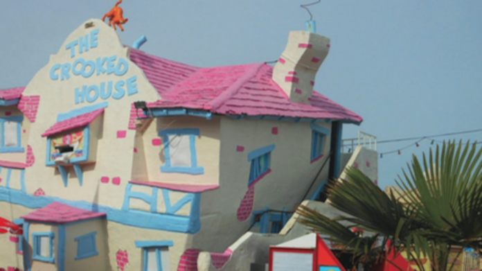 Crooked House, Adventure Island, Southend