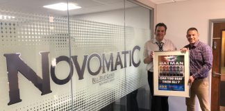 Novomatic Martyn allsop RLMS Holland