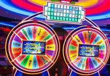 TWO PLAYER WHEEL OF FORTUNE AT FANTASY ISLAND