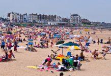 Weather sun beach