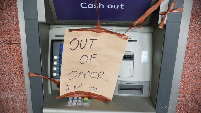 ATM cashpoint