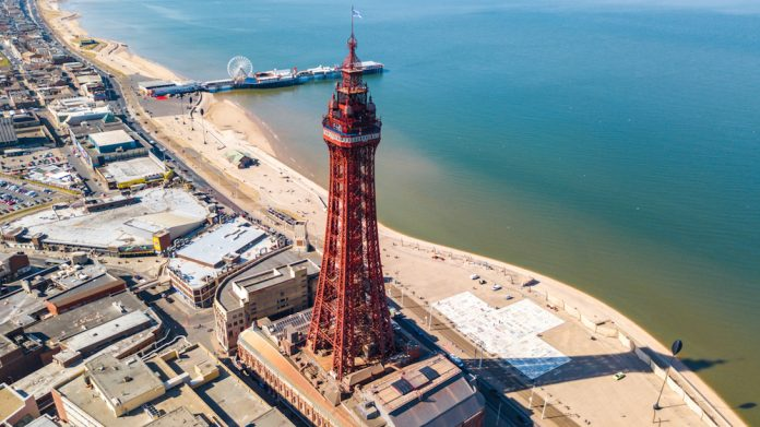 Blackpool, tourism, economy, Blackpool Pride of Place Partnerhip, Merlin Entertainment