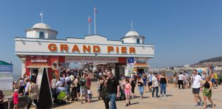 Blue Peter badge holders, free entry, Grand Pier, weston-super-mare
