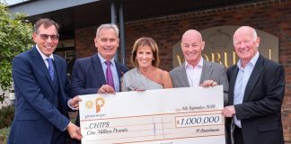 CHIPS trustees receive £1m cheque from Praesepe