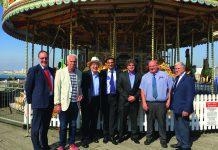 Bacta seaside amusements Regeneration MP delegation