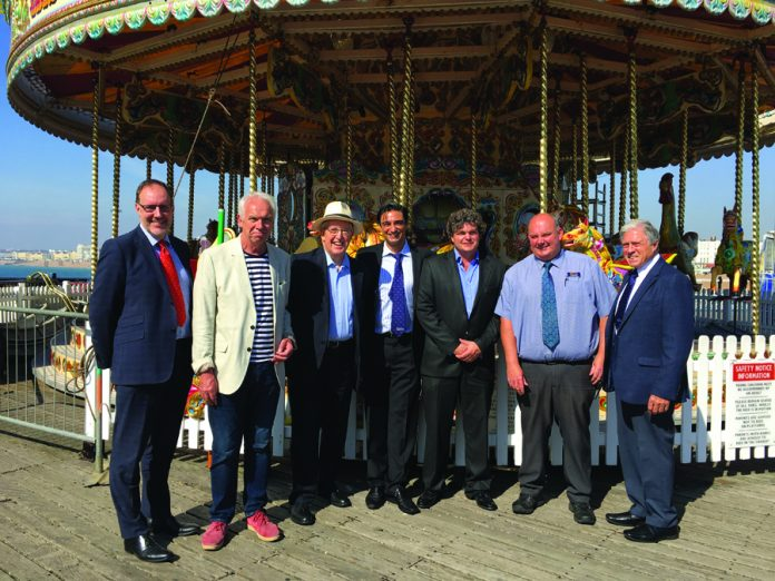 Bacta seaside amusements Regeneration MP delegation